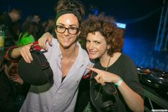Two amazing DJs - bloody love Annie Mac and Hannah Wants