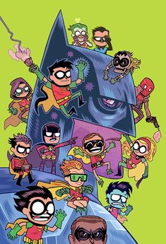 "Dc Comics' ""Teen Titans Go!"" Variant Covers"