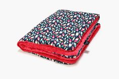 New! Baby red blanket
