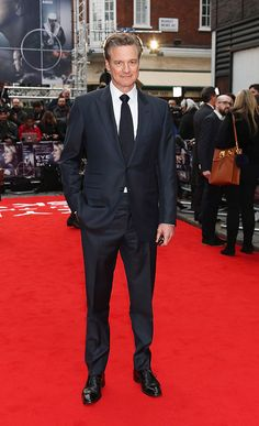 """Producer Colin Firth attends the UK premiere of """"Eye In The Sky"""" at The Curzon Mayfair on April 2016 in London, England. Get premium, high resolution news photos at Getty Images Colin Firth, Eye In The Sky, Mayfair, James Bond Style, Hugh Grant, Photos Of Eyes, Bridget Jones, Actors, Soccer"""