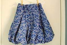 Fake It While You Make It: Bubble Skirt - Take Two
