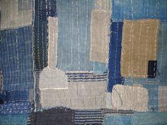 Japanese Antique Textile Boro Futon Cover Meiji (item #906871, detailed views)