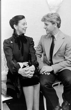 Mikhail Baryshnikov and Margot Fonteyn
