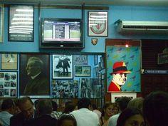 Pizzeria El Cuartito Buenos Aires (barrio Recoleta) Argentina.