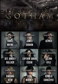 Gotham tv series 2014 cast