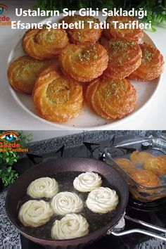 New Recipes, Cake Recipes, Cooking Recipes, Curry Puff Recipe, Pasta Cake, Middle Eastern Desserts, Turkish Recipes, Frozen Yogurt, Food Preparation