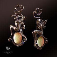 Faeris jewel (fée) by lhegacy