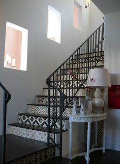 Another pretty stairs idea from Apartment Therapy