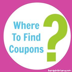 where can i find coupons for laundry detergent