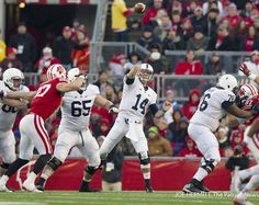 Penn State's starting quarterback ceased being a freshman during the Wisconsin game and reflected on his first year after it. Patriots News, New Patriots, Football 2013, Football Season, Christian Hackenberg, Pennsylvania State University, Final Exams, Social Events, Athletics