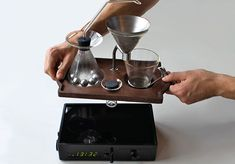 The Barisieur- Coffee Alarm Clock // Joshua Renouf MUST HAVE IT!!!!