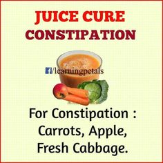 Juice Cure for Constipation