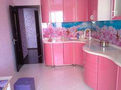 Glossy Kitchen Worktops and Kitchen Doors – Uncinetto Kitchen Cabinet Remodel, Kitchen Doors, Kitchen Cabinet Design, Kitchen Sets, Kitchen Paint, Kitchen Furniture, Cool Furniture, Glossy Kitchen, Colorful Kitchen Decor