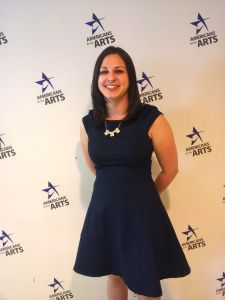 Kelly Olshan discusses her summer internship with Americans for the Arts in DC.