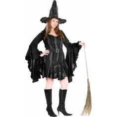 Adult Plus Size Sexy Stitch Witch Costume