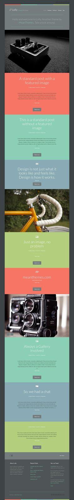 #webtemplate with a unique color scheme
