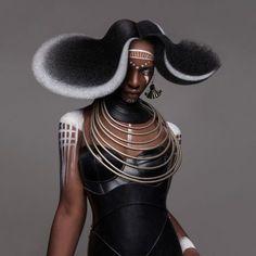 British Hair Awards 2016 – Afro Finalist Collection – photo by Luke Nugen