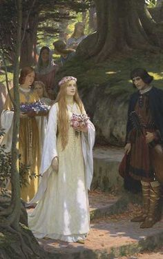 Edmund Blair leighton, my fair lady