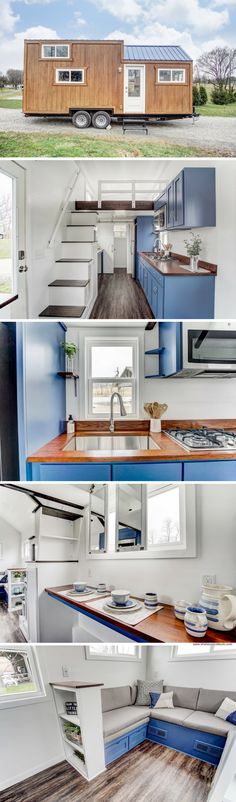 The Lodge Tiny Home by Modern Tiny Living