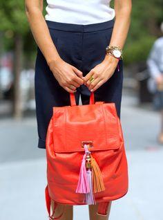 Rebecca Minkoff tassel #Backpack