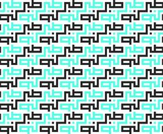 """Kufi pattern Its my work the pattern from word سبر """"patience"""""""