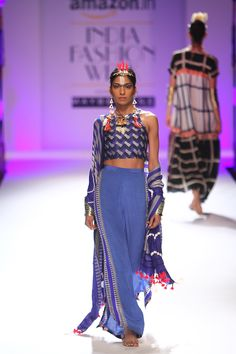 Anupamaa by Anupama Dayal at Amazon India Fashion Week autumn/winter 2016