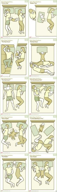 Just some baby sleeping positions. Lol this is why the kids do not get to sleep in bed with us! Trendy Baby, Position Pour Dormir, Lol So True, New Parents, Story Of My Life, Just For Laughs, Baby Love, Baby Baby, Baby Girls