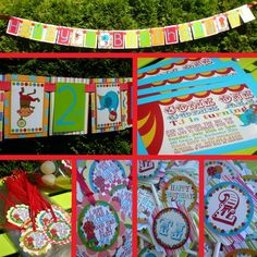 Circus Birthday Party Ideas: Bring the circus to your little one for their big day!!