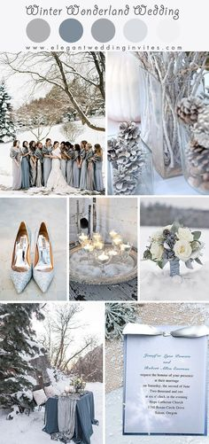 Glimmering Winter Wonderland Hochzeitsideen in den Farben Silber und Blau – WE… Glimmering Winter Wonderland wedding ideas in the colors silver and blue – WEDDING – WINTERHOCHZEIT – Elegant Winter Wedding, Winter Wedding Colors, Winter Wedding Decorations, Winter Wedding Inspiration, Summer Wedding, Trendy Wedding, December Wedding Colors, Winter Wonderland Wedding Theme, Winter Themed Wedding