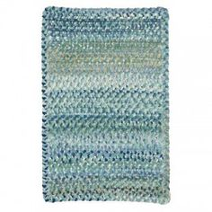 Ocracoke - Light Blue Braided Rug - Capel Rugs - 0425-425