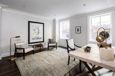 Inside Rupert Murdoch's New York City mansion: The office.