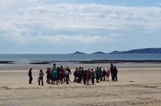 Primary school visits Swansea Bay beach.    Swansea Bay offers a wide range of primary, secondary, independent, further and higher educational establishments. Depending on individual school policy, education is available in English, Welsh and bilingually and there are also denominational schools in the region.
