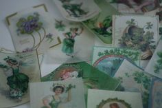St Patrick's Day cookie wafer paper edible vintage images