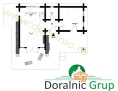 Proiect Doralnic 7 Case din busteni - Cabane din lemn Cabana, Woodworking Projects, Floor Plans, Motorcycles, Homes, Log Cabin Houses, Houses, Cabanas, Biking