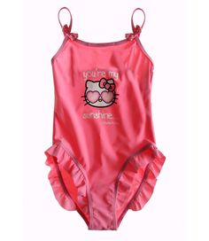 Elipcis | why pay more - Hello Kitty Swimsuit | Fuchsia  , £9.95 (http://www.elipcis.com/hello-kitty-swimsuit-fuchsia/)