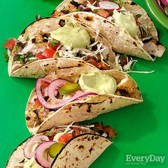 Margarita-Marinated Fish Tacos