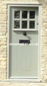 Craftsman aka arts and crafts door in the UK