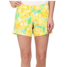 Lilly Pulitzer Shorts 'First Impressions' size 6. Super cute. Lilly Pulitzer Shorts