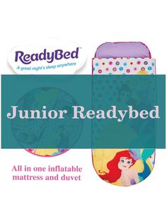 Junior Readybed | Disney Princess Bedding |  Disney Princess Bedroom   | Royal Princess Bedroom | Princess Bedroom Ideas For Adults. #instalux #Products Disney Princess Bedding, Princess Bedrooms, Teenage Girl Bedrooms, Girls Bedroom, Bedroom Ideas, Royal Princess, Great Night, All In One, Duvet
