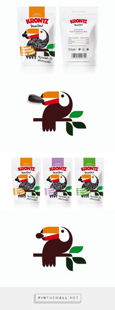 Krontz Sunflower seeds - Packaging of the World - Creative Package Design Gallery - http://www.packagingoftheworld.com/2016/06/krontz.html