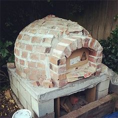 how to build a wood oven in the garden