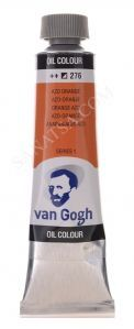 Talens Van Gogh Yağlı Boya 40 ml. 276 Azo Orange