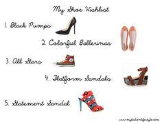 Shopping | Shoe Wishlist | My Lisbon Lifestyle