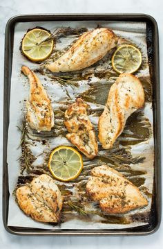 Paleo Lemon Roasted Breast Chicken #justeatrealfood #primaverakitchen