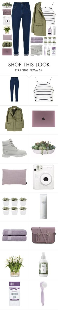 """""""never stop till we get there ♡"""" by embrxce ❤ liked on Polyvore featuring Dolce&Gabbana, Topshop, Joie, Timberland, VesseL, HAY, Abigail Ahern, Shiseido, Pure Fiber and The Cambridge Satchel Company"""