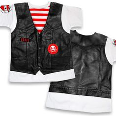 Shop for Cool Biker Gear & Leather Vest Shirts for Baby