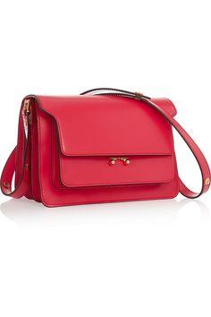 Marni | Trunk medium leather shoulder bag | NET-A-PORTER.COM