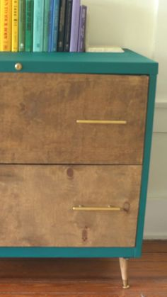 """HGTV on Instagram: """"File cabinets don't *have* to be ugly. 🗄 File this DIY under """"M"""" for major upgrade! 💯  #upcycle #organization #furnitureflip #homeoffice…"""" Paint Furniture, Home Furniture, Modern Furniture, Furniture Design, Restoration Hardware Furniture, Up House, Office Storage, Ikea Hack, Hgtv"""