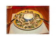 Kreikkalainen kana-couscous tsatsikilla
