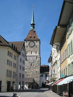 Aarau, Switzerland - my place of birth, my old stomping ground, the best little town in Switzerland. <3 <3 <3